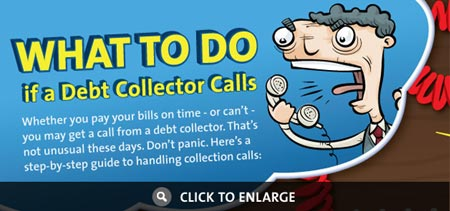 Infographic: What to do if a Debt Collector Calls