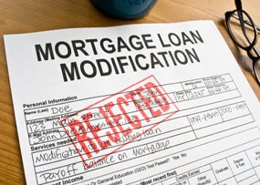 Loan Modification Rejections