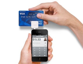 debit machine for cell phone