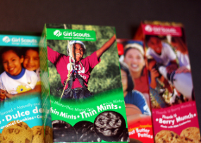 iPhone Satisfies Girl Scout Cookie Addiction