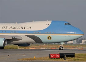 S&P Downgrades U.S. Debt... Will Repo Men Come for Air Force One?