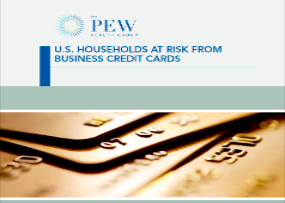 "Pew: ""Business"" Credit Cards Dangerous for Individuals"