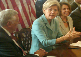 Poof! Elizabeth Warren to Leave Consumer Protection Agency on Aug. 1