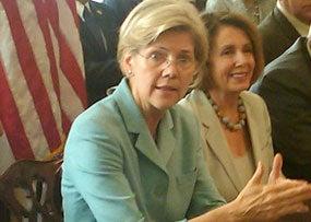Elizabeth Warren Getting Serious About a Senate Run