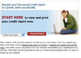 Image from www.annualcreditreport.com