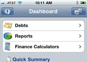 Snowballs Made Easy with the Debt Free iPhone App