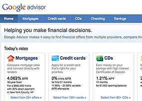 Google Unveils Financial Search Tool
