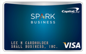 Capital e s New Spark Business Cards