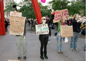 Occupy Wall Street Plans D.C. March, Home Takeovers