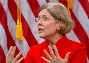 Elizabeth Warren Gains on Republican Opponent for Senate