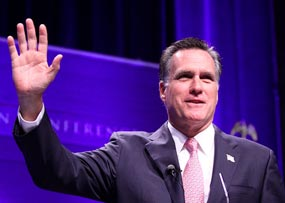 Romney, It's an Inauguration, not a Coronation