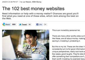Credit.com in the News: We're Named One of the Best Money Websites
