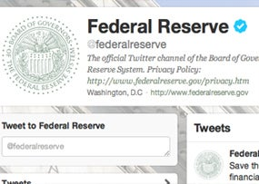 The Federal Reserve on Twitter