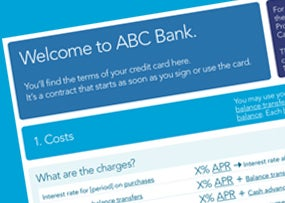 CFPB Credit Card Disclosure