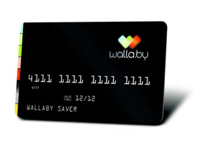 Wallaby Turns Multiple Credit Cards In To One