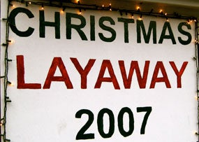 Think twice about layaway plans