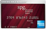 Best Airline Rewards - Starwood Preferred Guest card from American Express