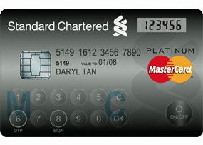 MasterCard's Newest Creation: A Credit Card With a Keypad