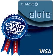 Best Balance Transfer Credit Card - Slate from Chase