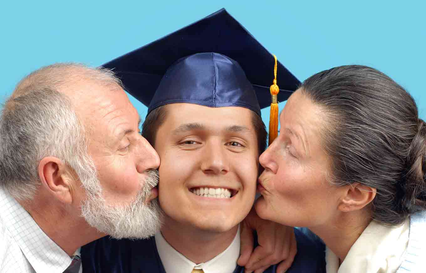 grads living with parents