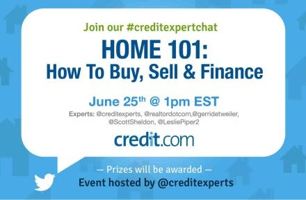 Join Us for a Twitter Chat: How to Buy, Sell & Finance a Home