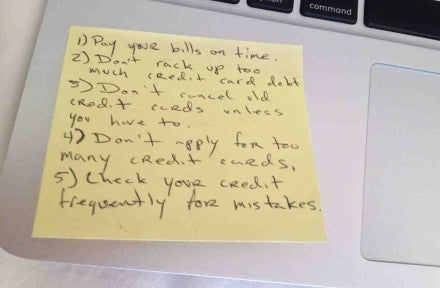 Everything You Need to Know About Credit on a Post-It