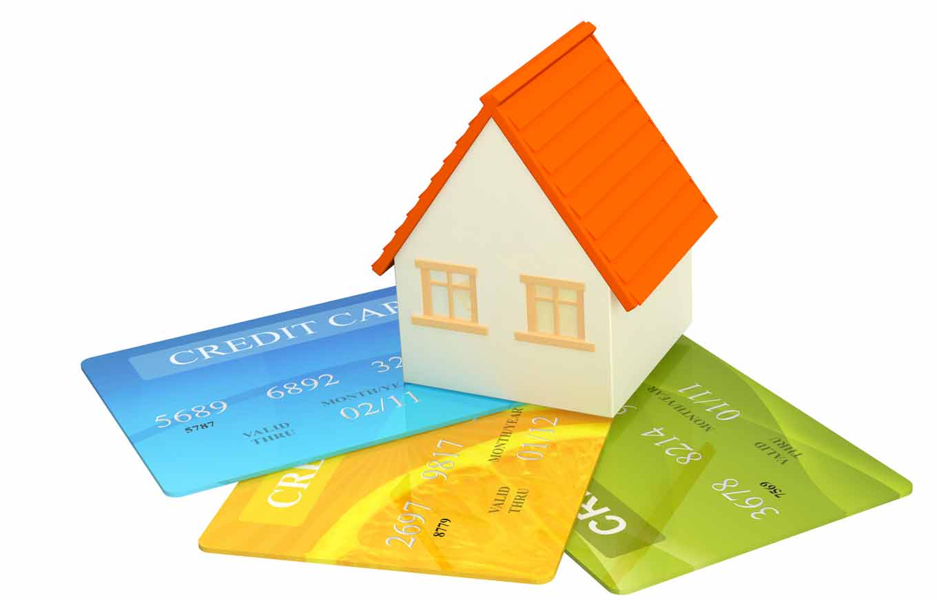 credit card debt buying a home