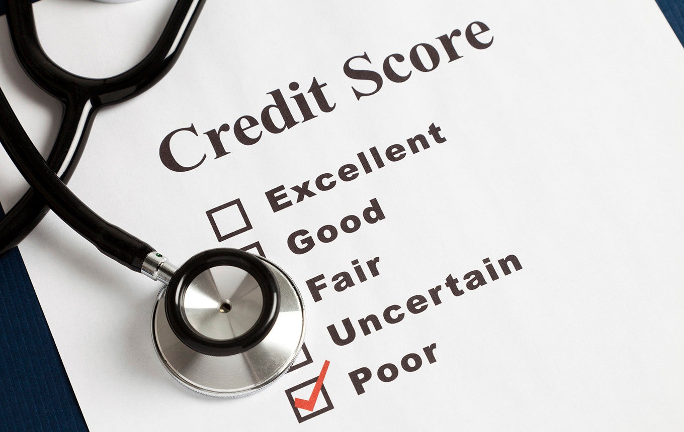 10 States With the Lowest Credit Scores