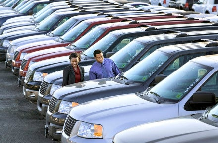 September Auto Sales Down From Last Year