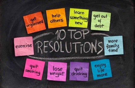 Making a New Year's Resolution Stick