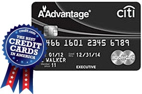 The Citi Executive/AAdvantage World Elite MasterCard