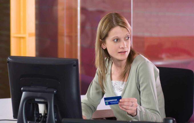 company credit card