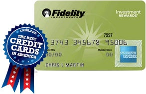 The Fidelity Rewards American Express card