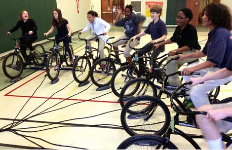 Why Banks Are Giving Kids Bikes