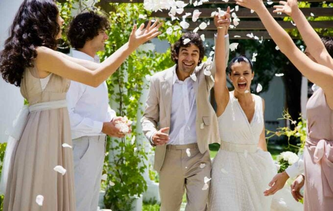 4 Weddings in 4 States in Under $2,200 Dollars