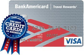 BankAmericard Travel Rewards for Students