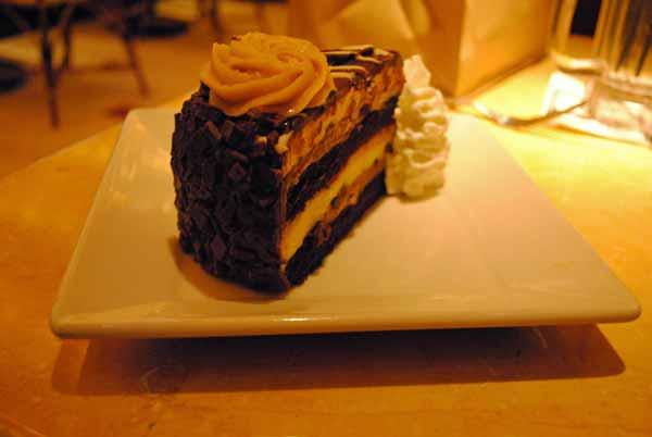 9. BONUS: Desert! Reese's Peanut Butter Chocolate Cake Cheesecake -- Cheesecake Factory