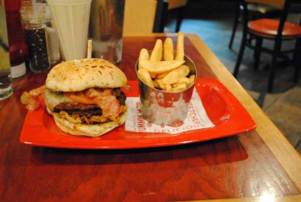 2. The Monster Meal -- Red Robin Gourmet Burgers