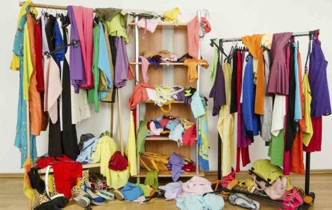 downsize your wardrobe