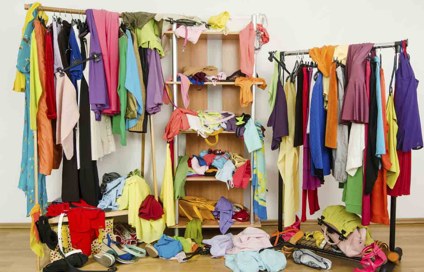 downsize your wardrobe