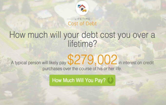 lifetime cost of debt