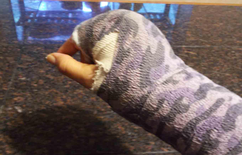 gerri hand cast