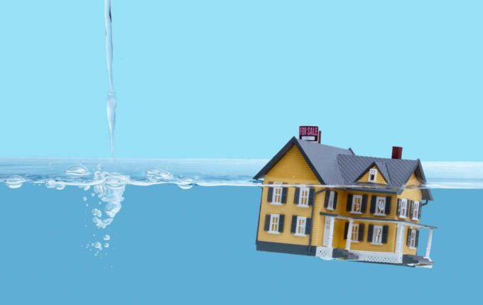 underwater on your mortgage