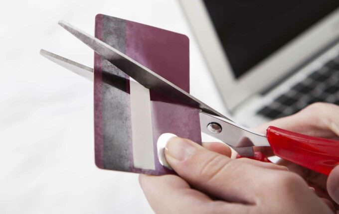 dump your credit card