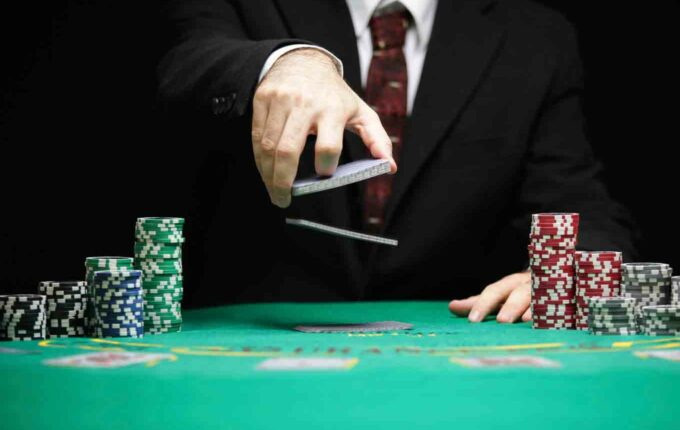 playing poker