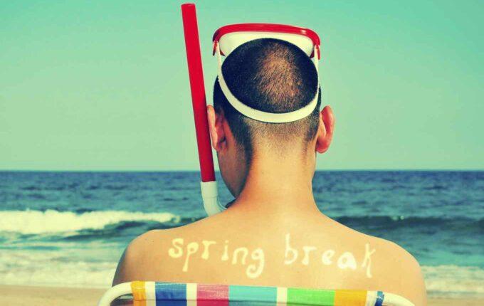 spring break scams