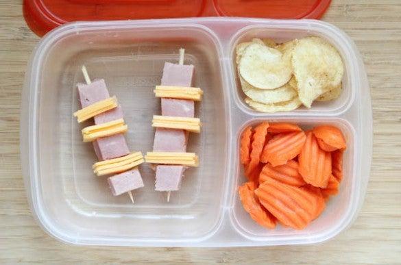 Ham & Cheese Kabobs