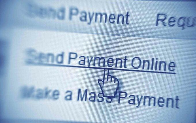 pay a bill online