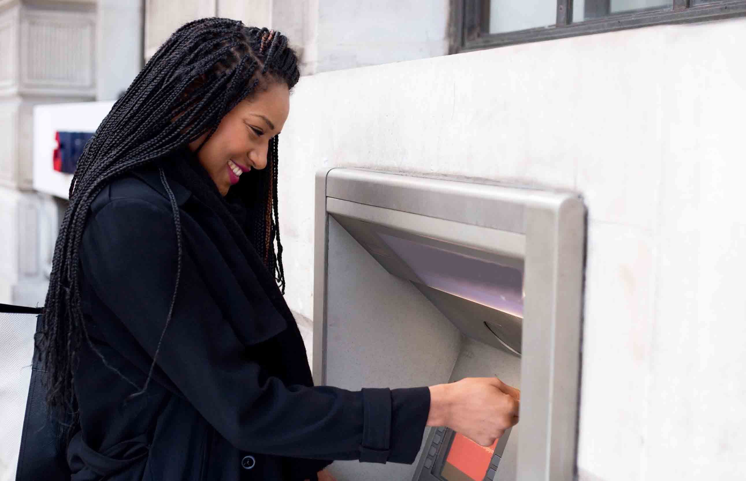 ATM card or debit card