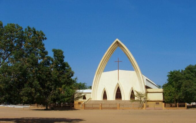 N'Djamena, Chad: Notre Dame de la Paix Catholic Cathedral